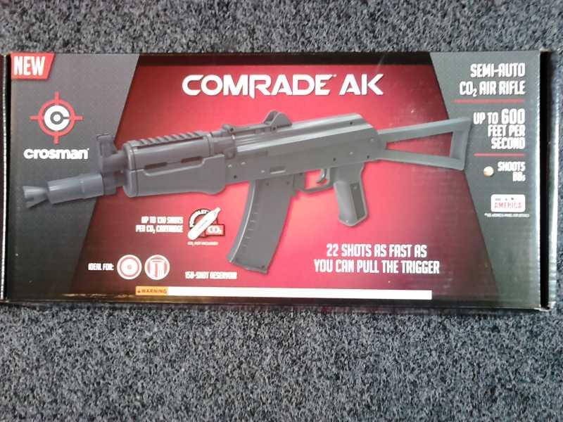 1)Crosman Comrade AK глазами владельца.