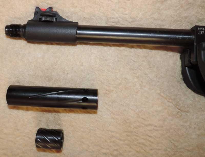 4)Пистолет пневматический Hatsan MOD 25 Super Tactical
