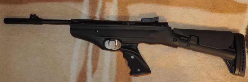 5)Пистолет пневматический Hatsan MOD 25 Super Tactical