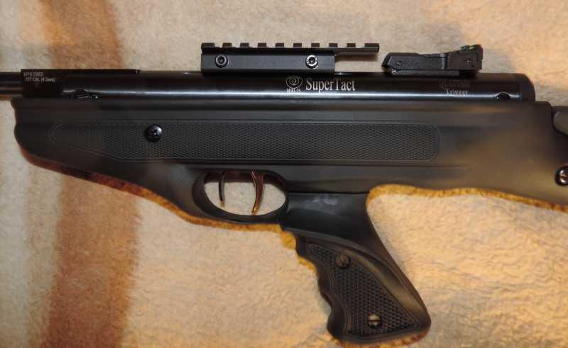 6)Пистолет пневматический Hatsan MOD 25 Super Tactical