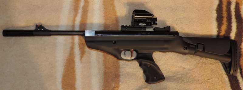 7)Пистолет пневматический Hatsan MOD 25 Super Tactical