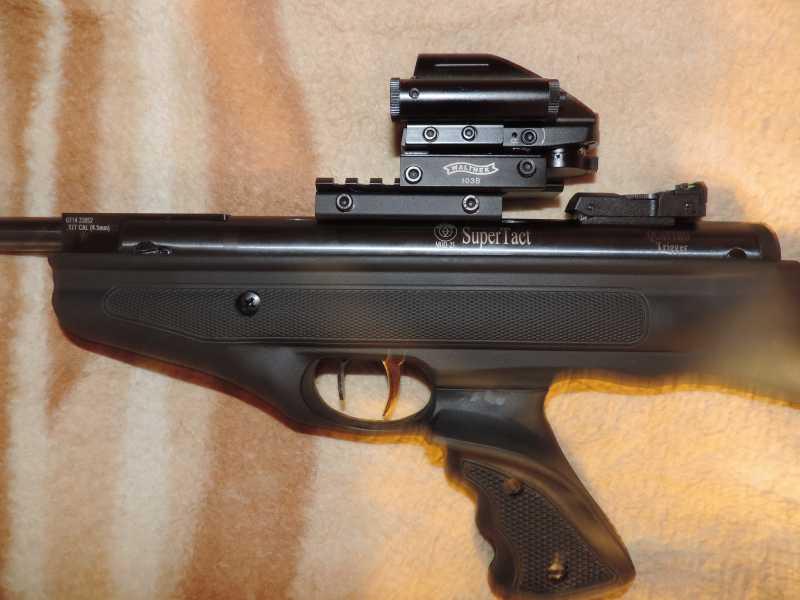 9)Пистолет пневматический Hatsan MOD 25 Super Tactical