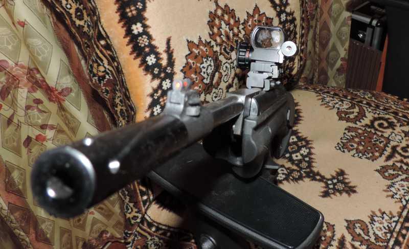 10)Пистолет пневматический Hatsan MOD 25 Super Tactical