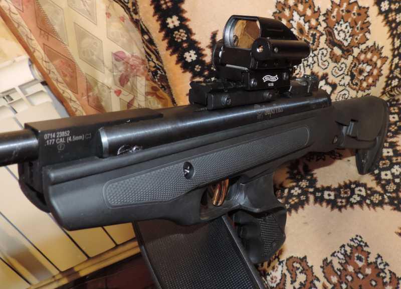 11)Пистолет пневматический Hatsan MOD 25 Super Tactical