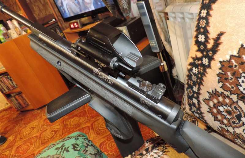 12)Пистолет пневматический Hatsan MOD 25 Super Tactical