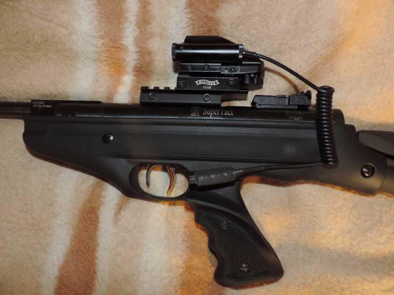 13)Пистолет пневматический Hatsan MOD 25 Super Tactical