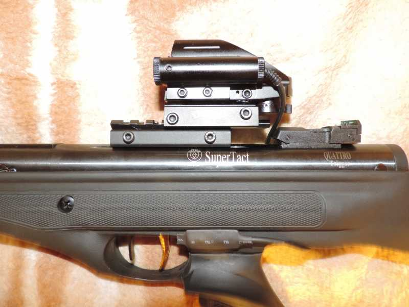 14)Пистолет пневматический Hatsan MOD 25 Super Tactical