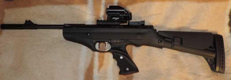 16)Пистолет пневматический Hatsan MOD 25 Super Tactical