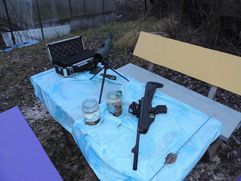 18)Пистолет пневматический Hatsan MOD 25 Super Tactical