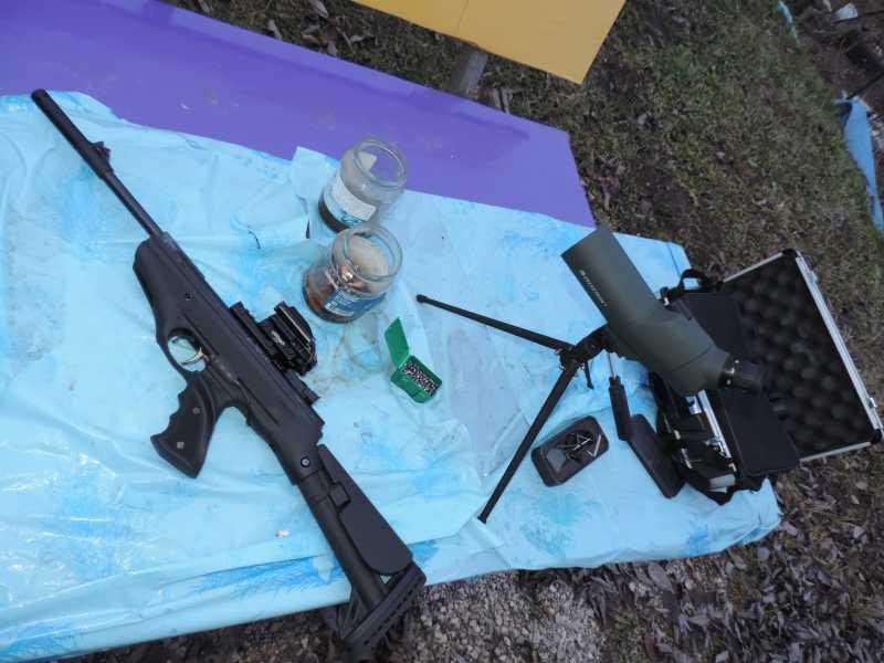 19)Пистолет пневматический Hatsan MOD 25 Super Tactical