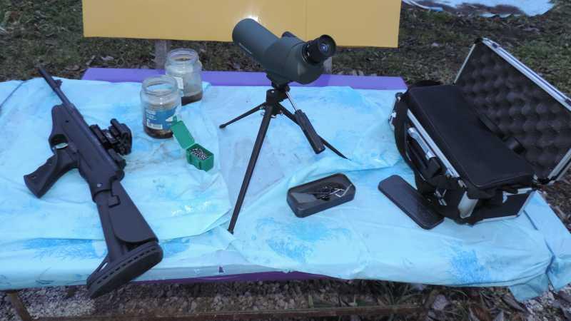 20)Пистолет пневматический Hatsan MOD 25 Super Tactical