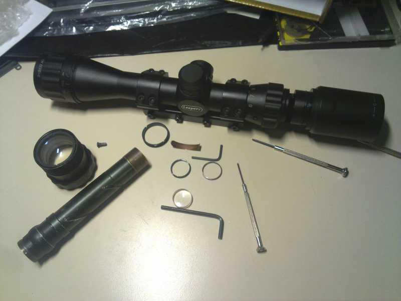 11)Реанимация липерса (ремонт оптики)