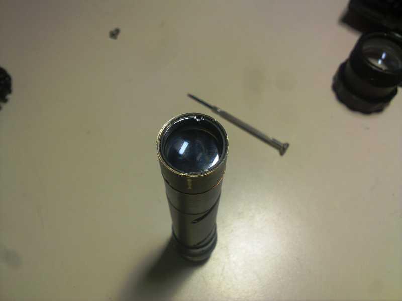 15)Реанимация липерса (ремонт оптики)