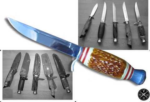 Туристические ножи ГДР