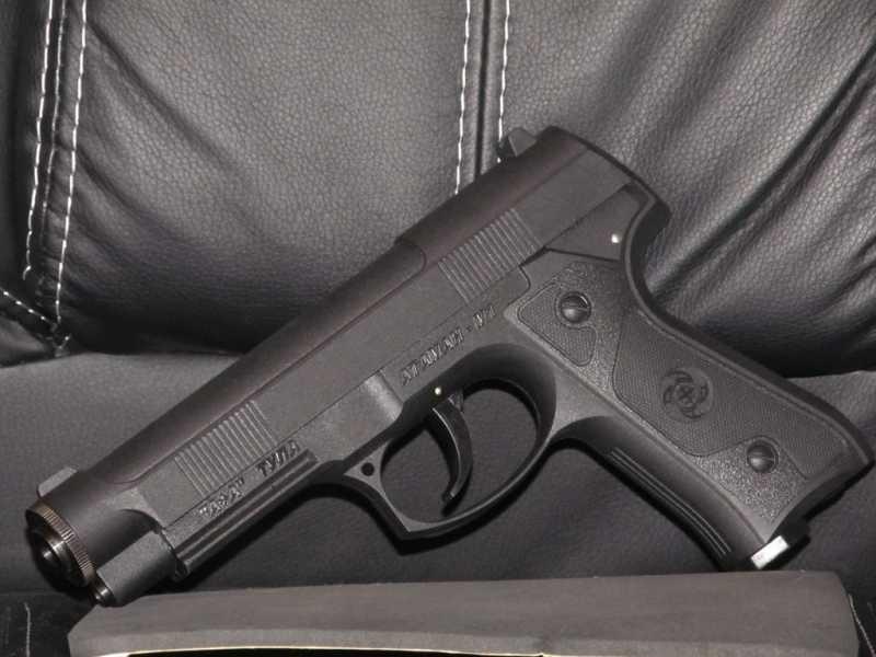 1)Тульский пистолет Атаман - М1