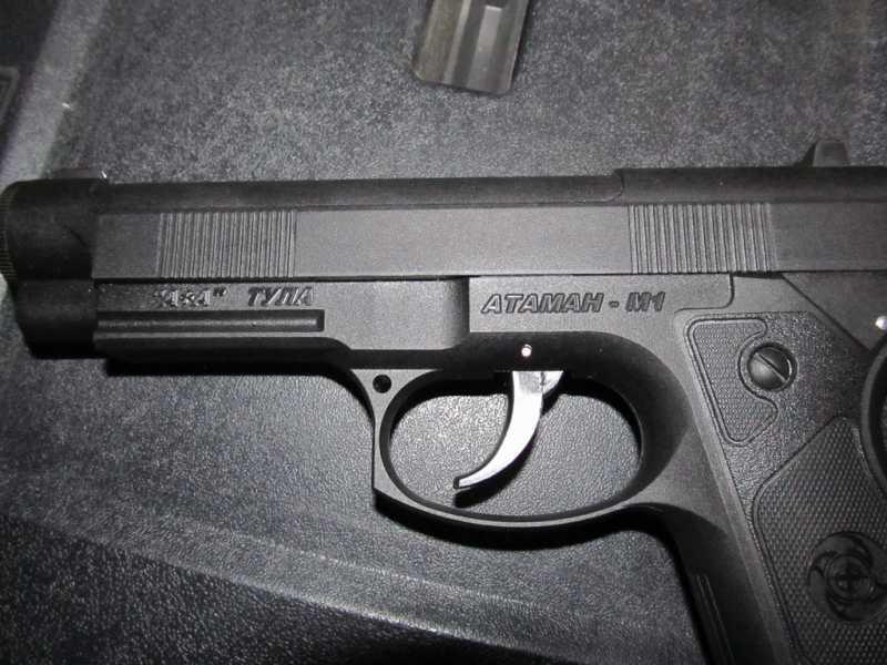6)Тульский пистолет Атаман - М1