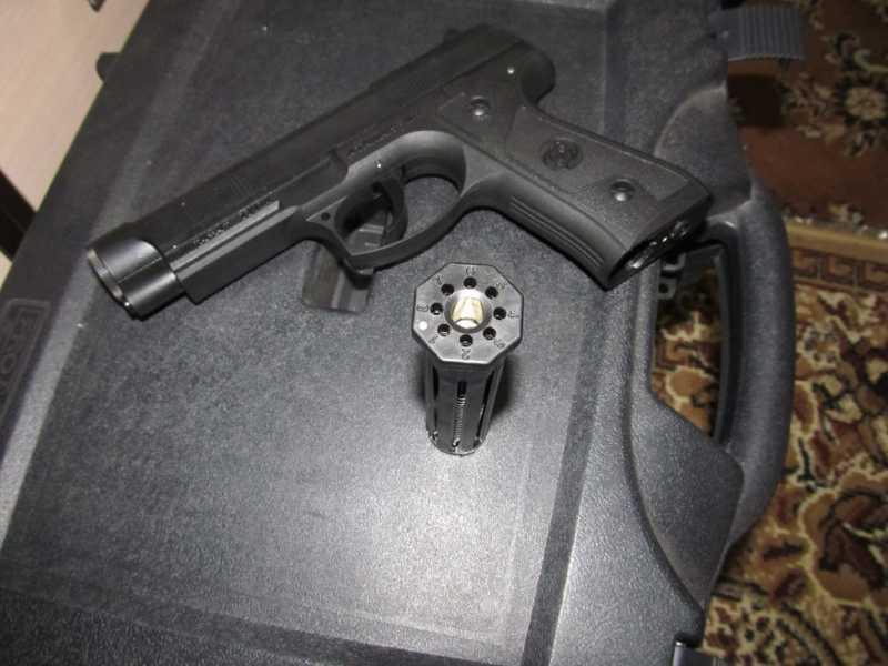 10)Тульский пистолет Атаман - М1