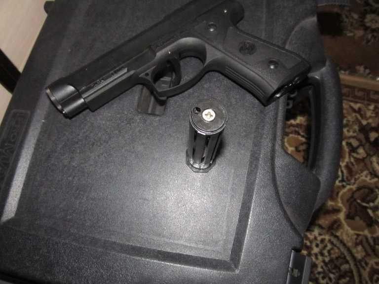 11)Тульский пистолет Атаман - М1