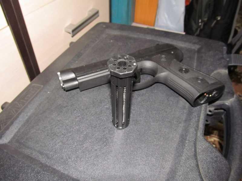 12)Тульский пистолет Атаман - М1
