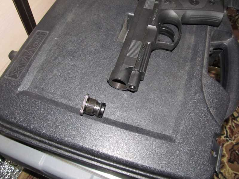 14)Тульский пистолет Атаман - М1
