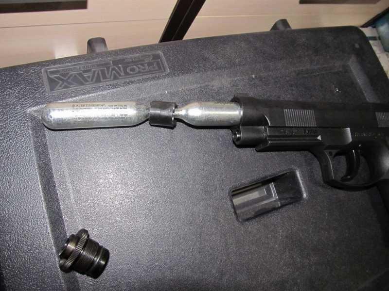 19)Тульский пистолет Атаман - М1