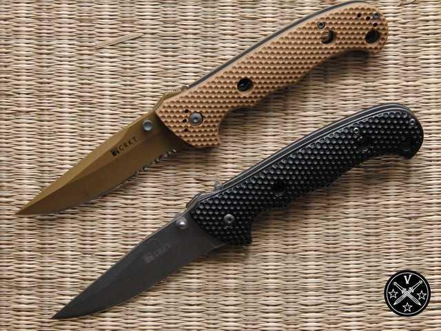 Оригинальный нож Desert Cruiser и китайский клон его предшественника Cruiser