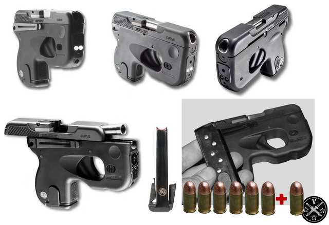 Общий вид пистолета Taurus Curve