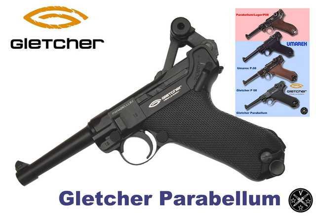 Пневматические пистолеты Парабеллум