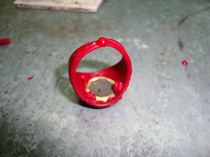 9)рождение AIR-GUN кольца