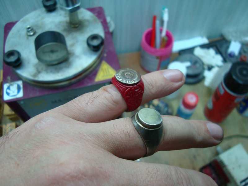 11)рождение AIR-GUN кольца