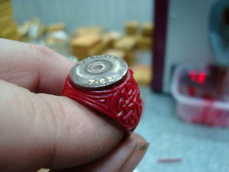13)рождение AIR-GUN кольца