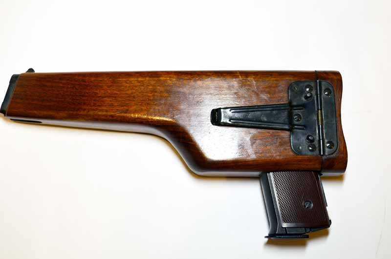 2)Наш ответ империализму. Автоматический Пистолет Стечкина
