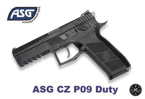 Первый пневматический пистолет ASG c yfhtpysv cndjkjv - CZ75 P09