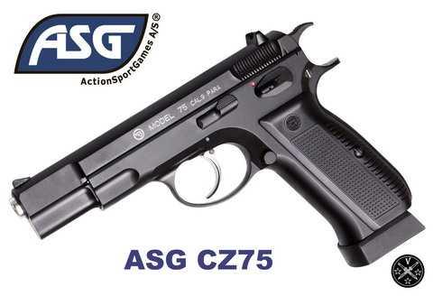 Пневматический пистолет ASG CZ75