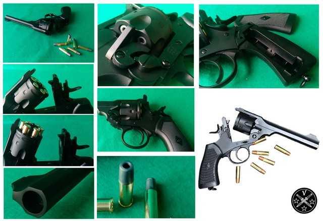 Конструктивные особенности нового пневатического револьвера Webley