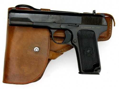 4)Пистолет со сложной судьбой – легендарный ТТ