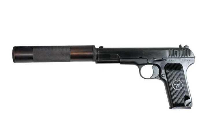 7)Пистолет со сложной судьбой – легендарный ТТ