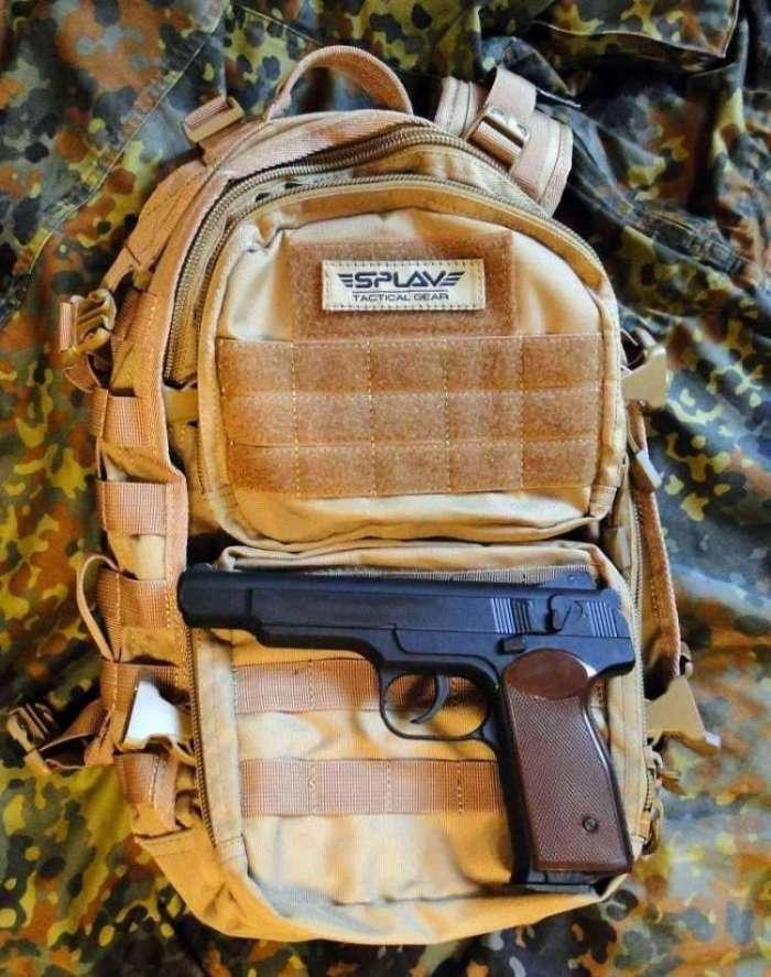 1)Тактический рюкзак