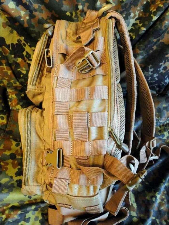 3)Тактический рюкзак
