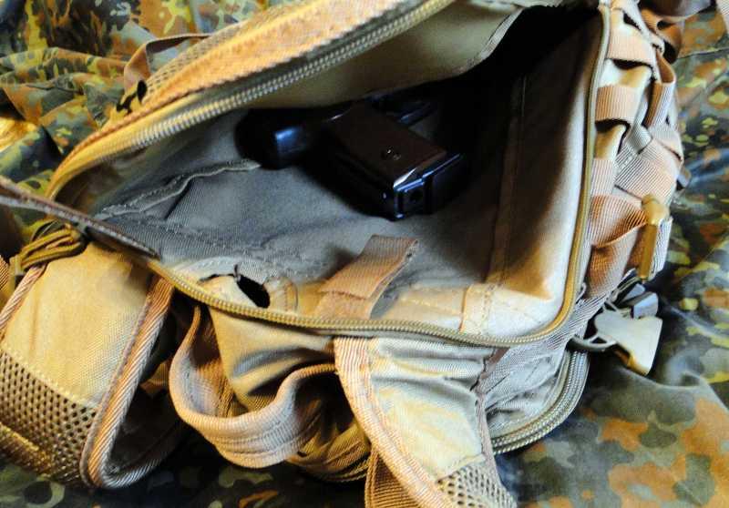 12)Тактический рюкзак