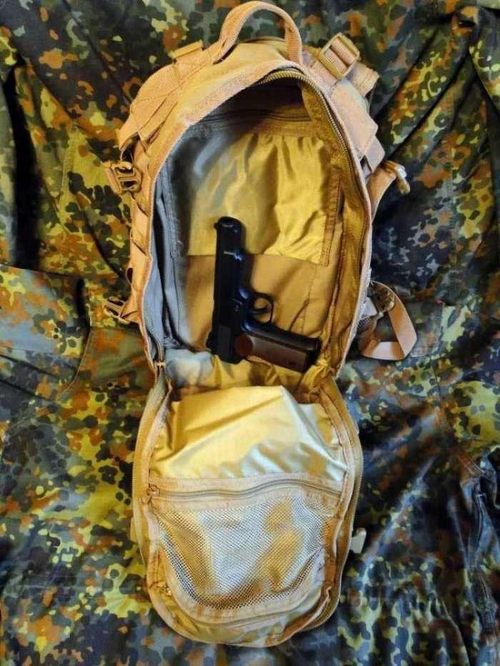 17)Тактический рюкзак