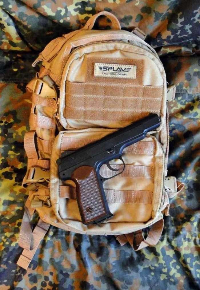 18)Тактический рюкзак