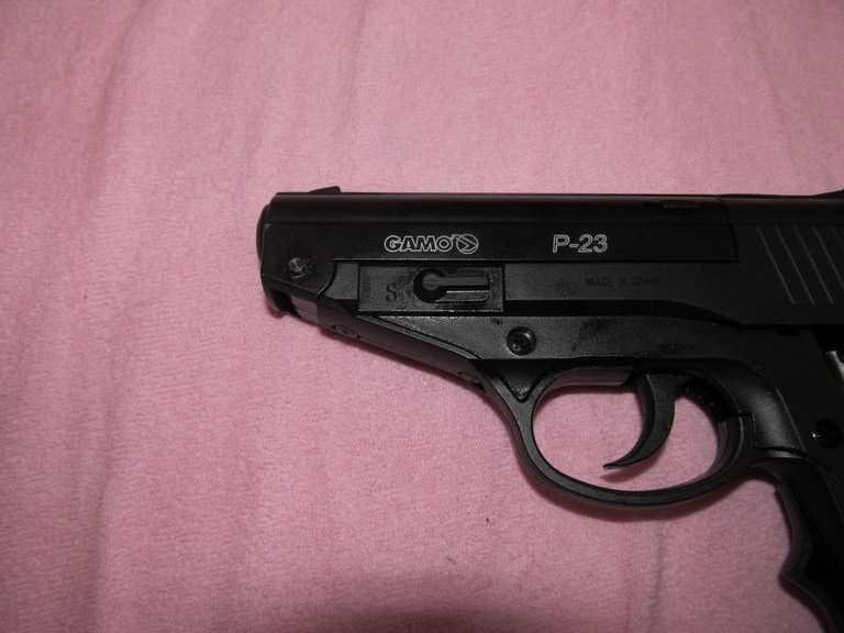 5)Всеядный буржуй или пневматический пистолет GAMO P-23 Combat