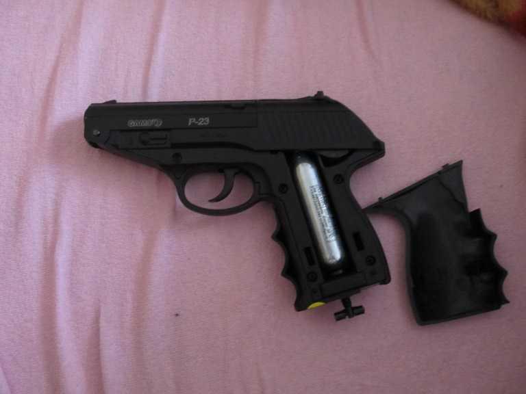 9)Всеядный буржуй или пневматический пистолет GAMO P-23 Combat