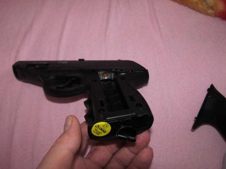 10)Всеядный буржуй или пневматический пистолет GAMO P-23 Combat