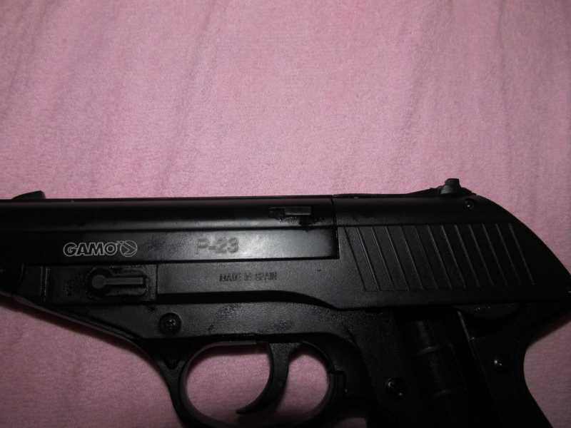 12)Всеядный буржуй или пневматический пистолет GAMO P-23 Combat