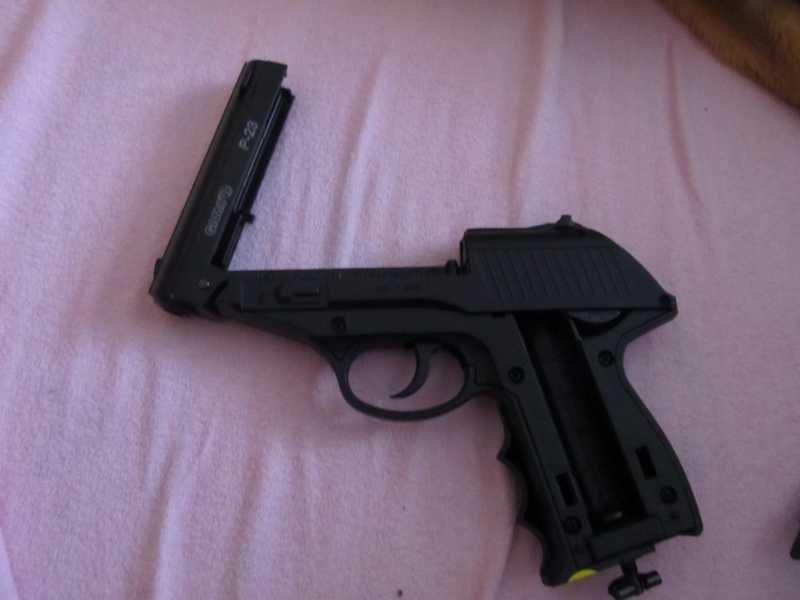 13)Всеядный буржуй или пневматический пистолет GAMO P-23 Combat