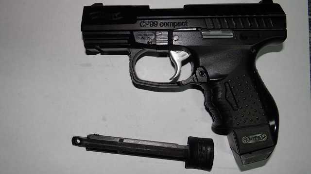 11)Обзор Umarex Walther CP99 Compact