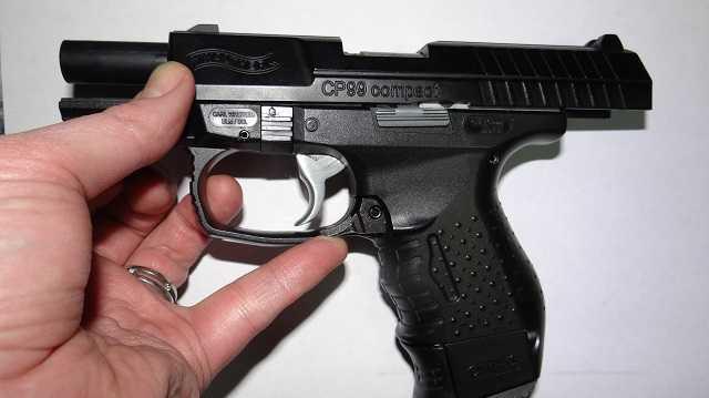 17)Обзор Umarex Walther CP99 Compact