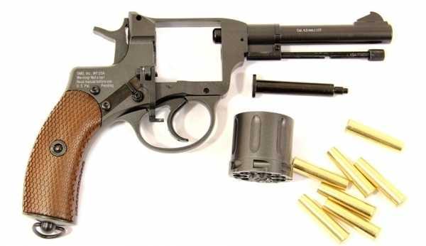 6)От Империи до Союза: револьвер Наган
